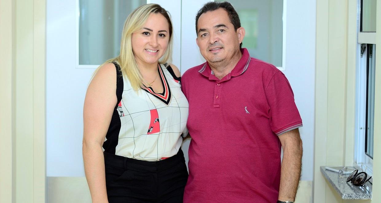 Destacamos Berguinho e esposa Aline, proprietários do Complexo Hospitalar CIED, em Alexandria. O casal empreendedor acabou de inaugurar um moderno centro cirúrgico. Sucesso!