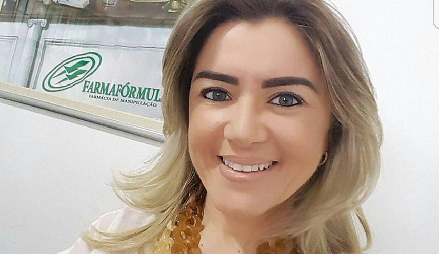 Alessandra Pascoal proprietária da Farmafórmula Pau dos Ferros