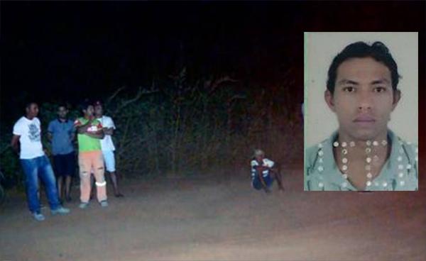 Erivanaldo Franck foi assassinado em uma estrada carroçável que dá acesso ao assentamento Cristal (Foto: Fim da Linha).