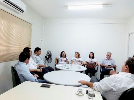 PREFEITO Gustavo Montenegro Soares viabiliza parceria a APAE de Assú em encontro com MP de Assu.