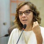 Larissa Rosado cobra recuperação de estradas do Estado