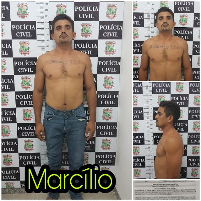 Marcílio de Melo assassinou o mossoroense para roubar a moto e não pagar a dívida que possuía com o crediário.