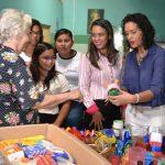 Estudantes doam alimentos e brinquedos para o Lar da Criança Pobre de Mossoró