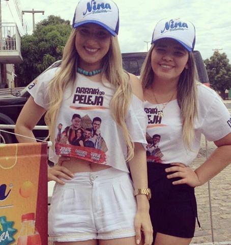 Amabília Duarte e Glaryane Morais com certeza são presença confirmada no Arraiá do Peleja.