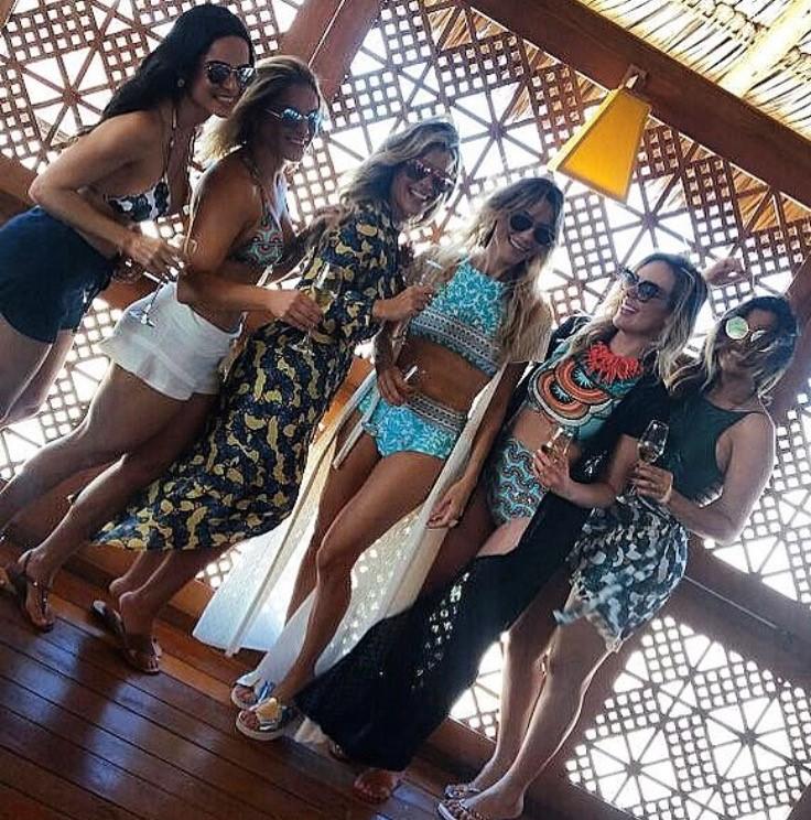 Eita da surra de beleza para campanha da cia Marítima. As estrelas escolhidas pela empresária Raiza Leite foram Sarah Barreto, Samara Veras, Roberta Rosado, Mariana Cardoso e Liliane Oliveira.