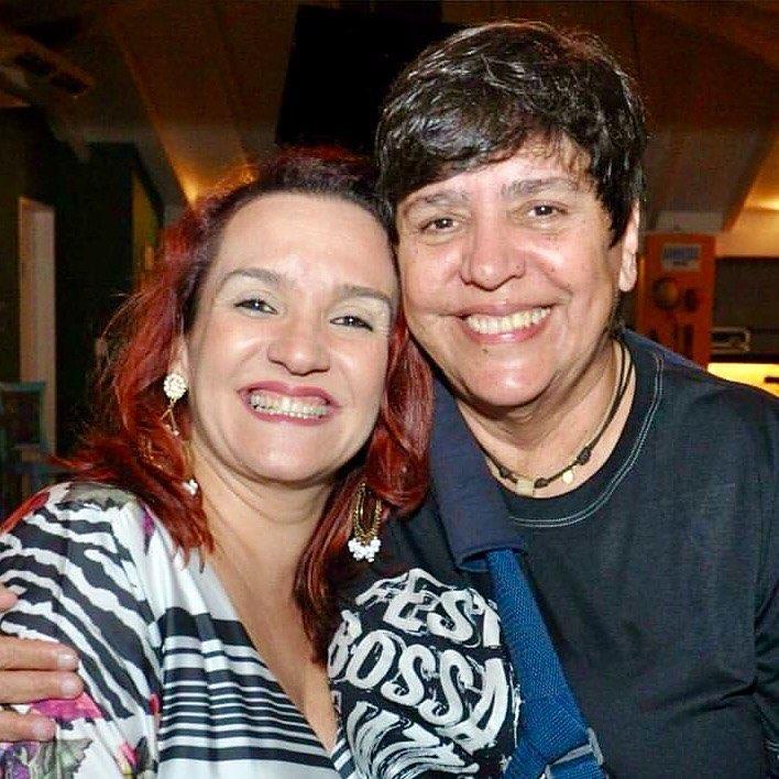 A idealizadora do evento Fest Bossa & Jazz, Juçara Figueiredo, com a produtora do evento em Mossoró, Katharina Gurgel, estreando o festival amanhã na Estação das Artes Eliseu Ventania.