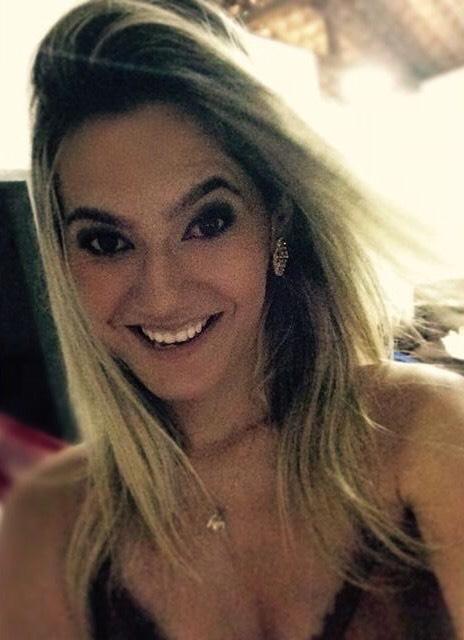 A parceira Laura Anastacia, uma das idealizadoras do Arraiá do Peleja.