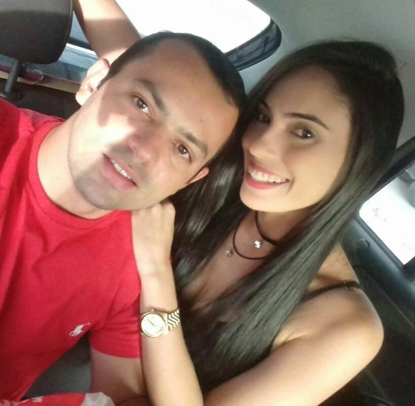 A Nutricionista Raiara Freitas ontem 23/09, aniversariou e em tempo desejo meus Parabéns! Na foto com o seu noivo Flávio Roberto.