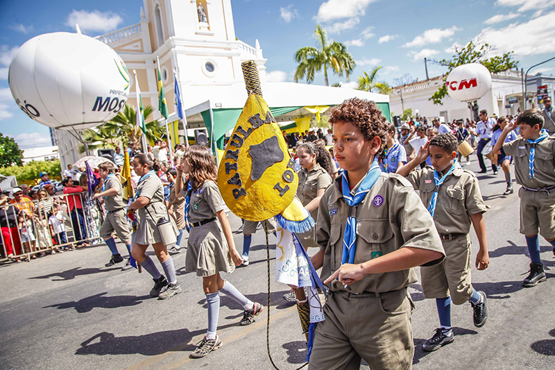 desfile 7 de setembro Mossoró