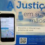 Aplicativo permite localizar unidade da Justiça mais próxima