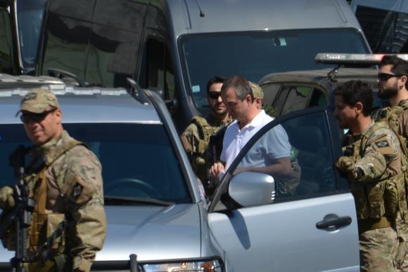 Saída dos empresários Joesley Batista e Ricardo Saud da Superintendência da Polícia Federal em SP Rovena Rosa/Agência Brasil