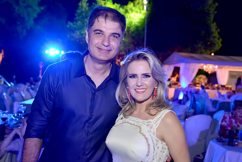 Gabriel Barcellos e sua musa Patrícia Barbosa sempre merecendo muitos aplausos pelo belo e competente trabalho à frente do grande Hotel Thermas Resort.