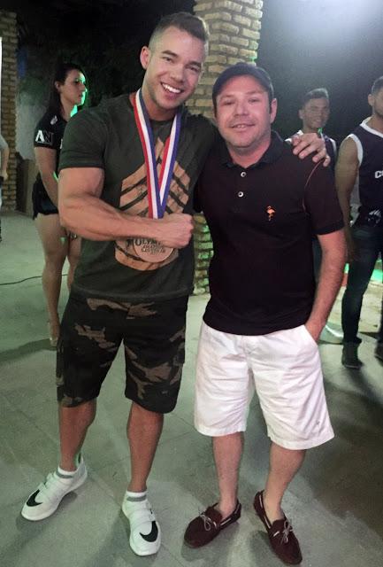 Satisfação de conhecer o atleta Vitor Chaves (Top 2 do Mister Olympia realizado em Las Vegas).