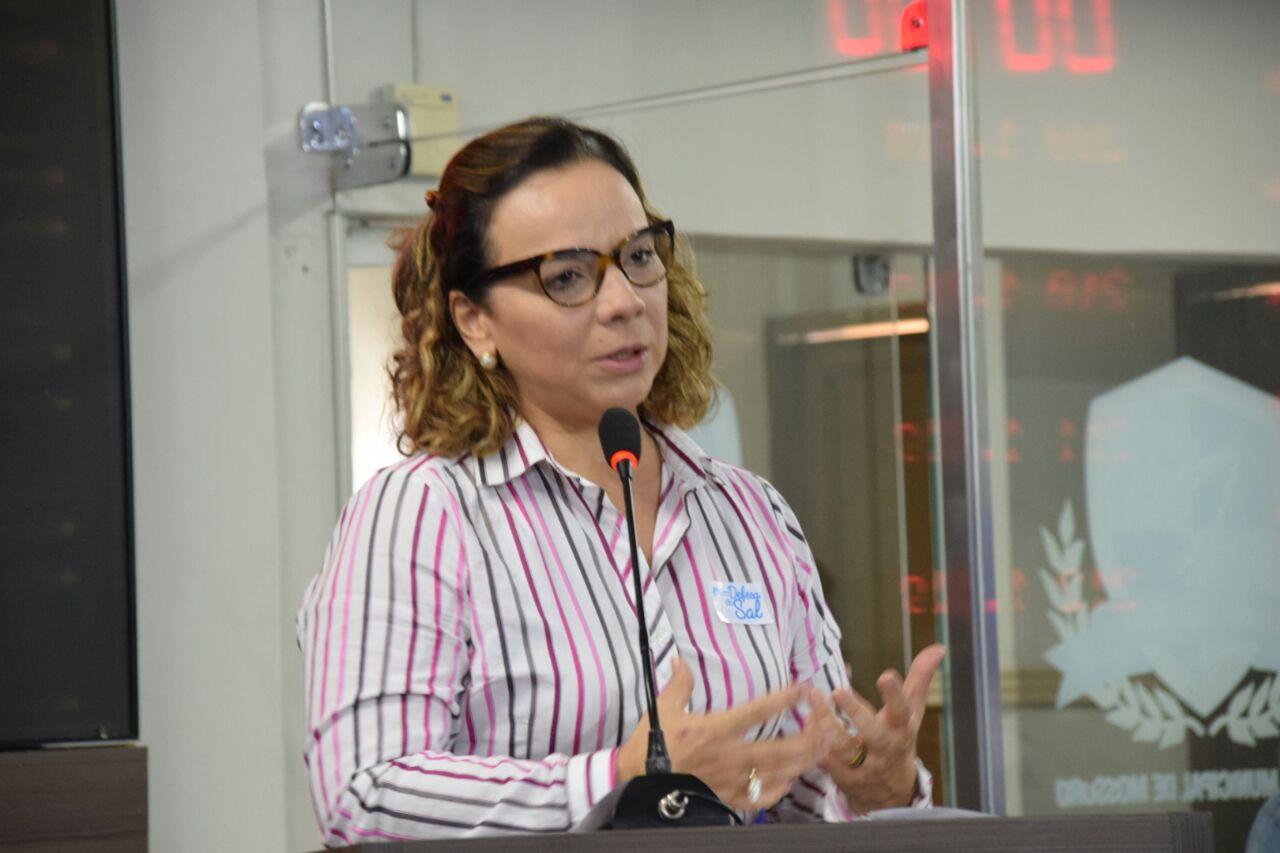 Larissa Rosado alerta para a importância do reconhecimento do sal potiguar