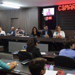 Vereadores mirins participam de sessão na Câmara