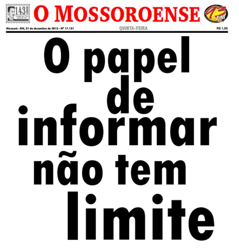 Museu municipal celebra os 145 do jornal O Mossoroense