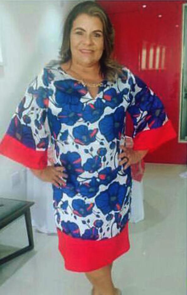 A querida Zeza Fernandes em dia de inauguração da TCM Apodi.