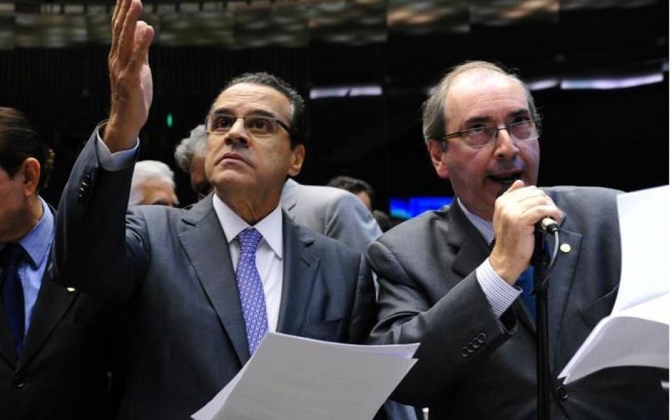 MPF denuncia Henrique Alves e Eduardo Cunha por corrupção passiva