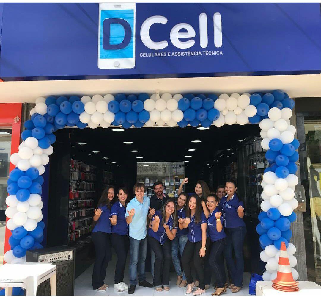 Equipe Dcell em Assú, loja inaugurada no inicio desse mês de Novembro.