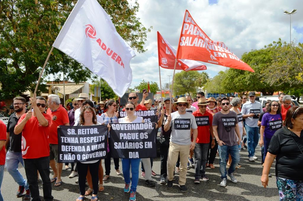 Diocese de Mossoró declara apoio à greve dos professores da UERN