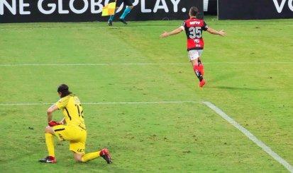 Flamengo  garante vitória logo no primeiro tempo