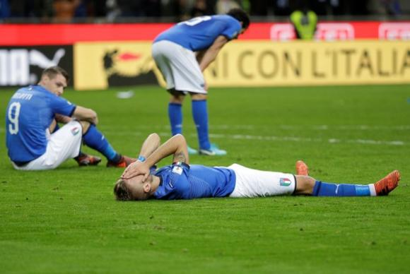 Itália empata e pela primeira vez em 60 anos ficará fora de uma Copa do Mundo