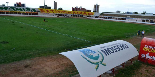 Termo de Ajustamento de Conduta foi firmado com a Liga Desportiva Mossoroense. Obras devem ser concluídas em dezembro de 2019.