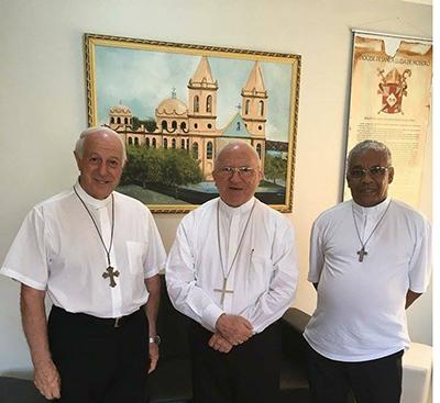 Bispos do Estado solicitam reunião com Robinson Faria