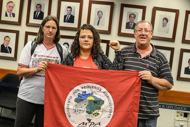 Agricultores fazem greve de fome contra a reforma da Previdência
