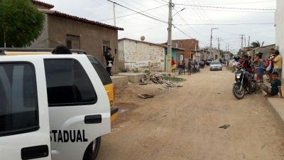 A vítima foi identificada como Benderson Johnny de Oliveira, 29 anos.
