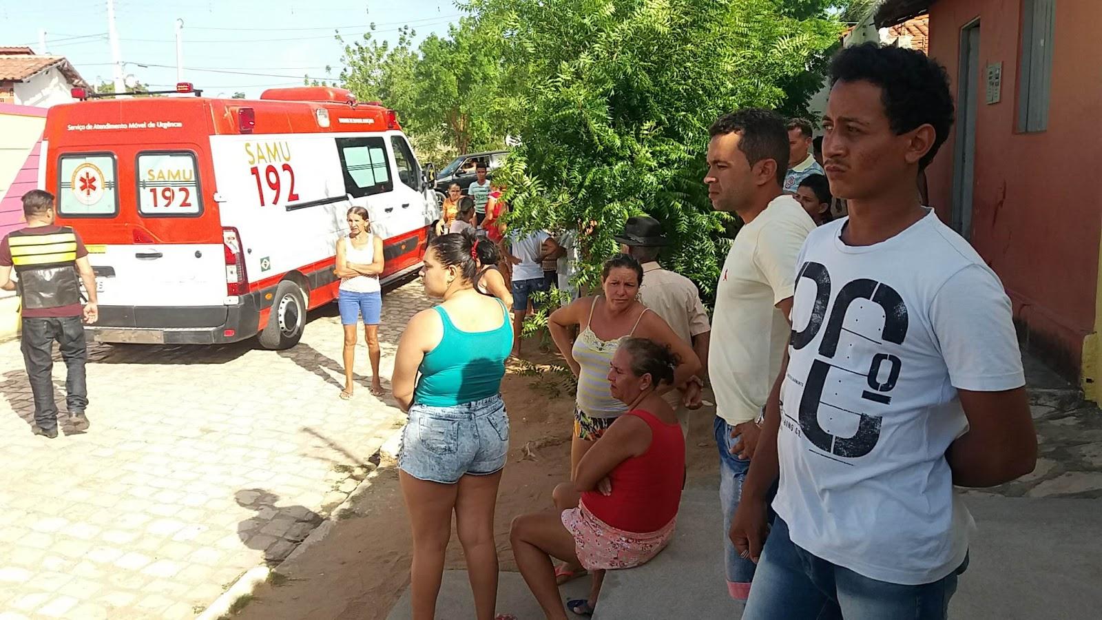 A vítima foi identificada como Antônio Pereira da Silva, 49 anos.