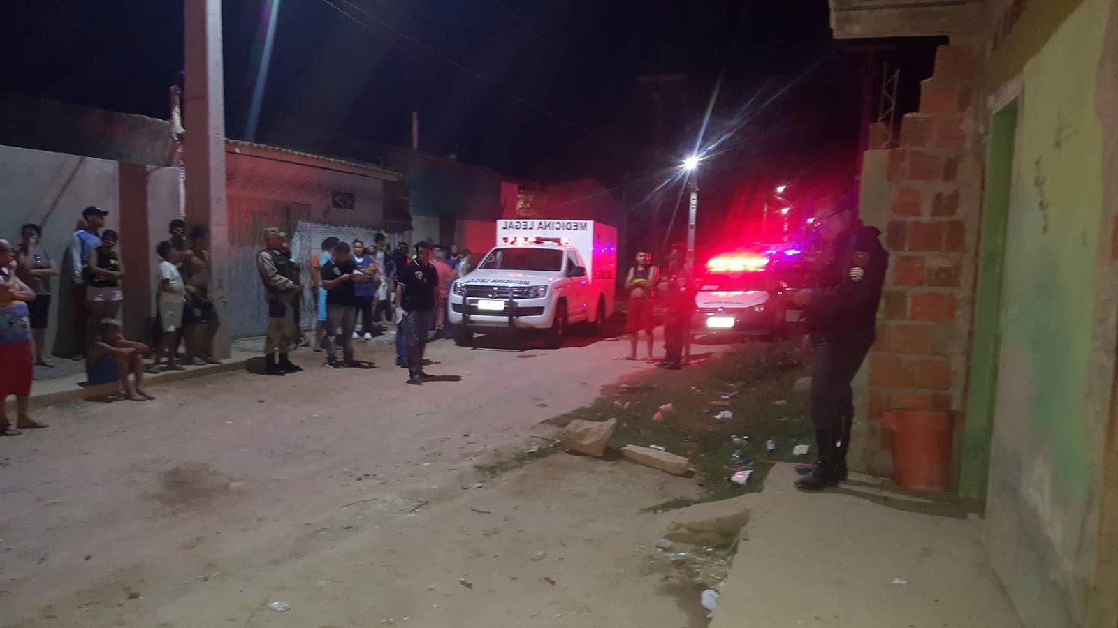 O crime aconteceu no bairro Barrocas.