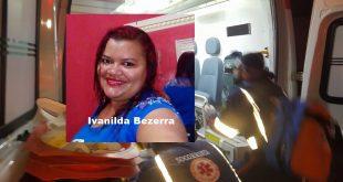 As vítimas foram identificadas como Maria Ivanilda Bezerra da Silva, 29 anos e a outra identificada apenas como Mayara.