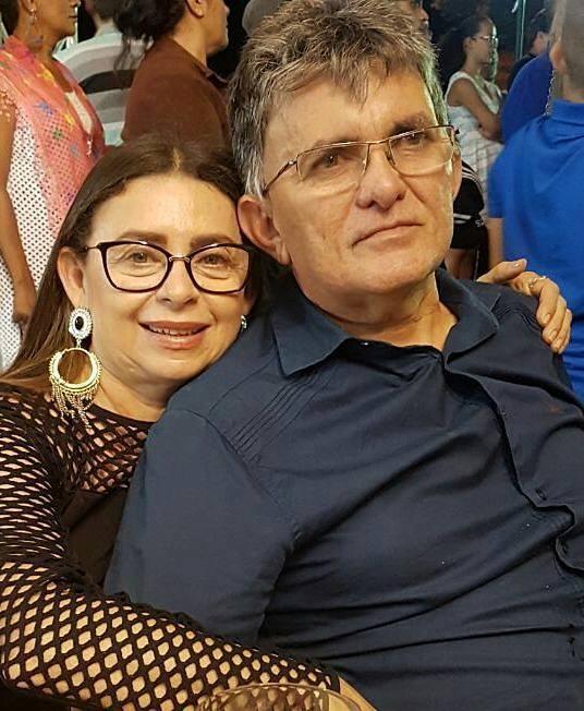 Aniversariante vip da semana o empresário Wilson Amorim e sua Maria Auxiliadora. Parabéns!