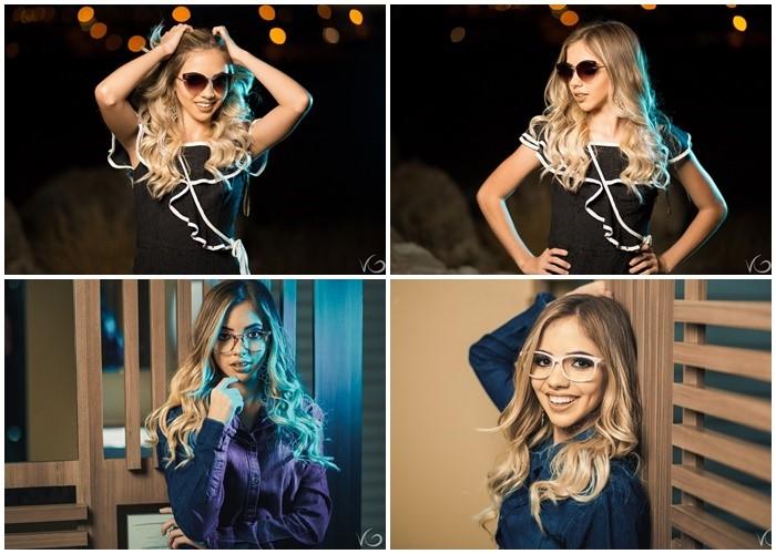A linda Emylle Campello em editorial para a loja de óculos Goose. Confira o ensaio completo no nosso blog www.clistenescarlos.com.br.