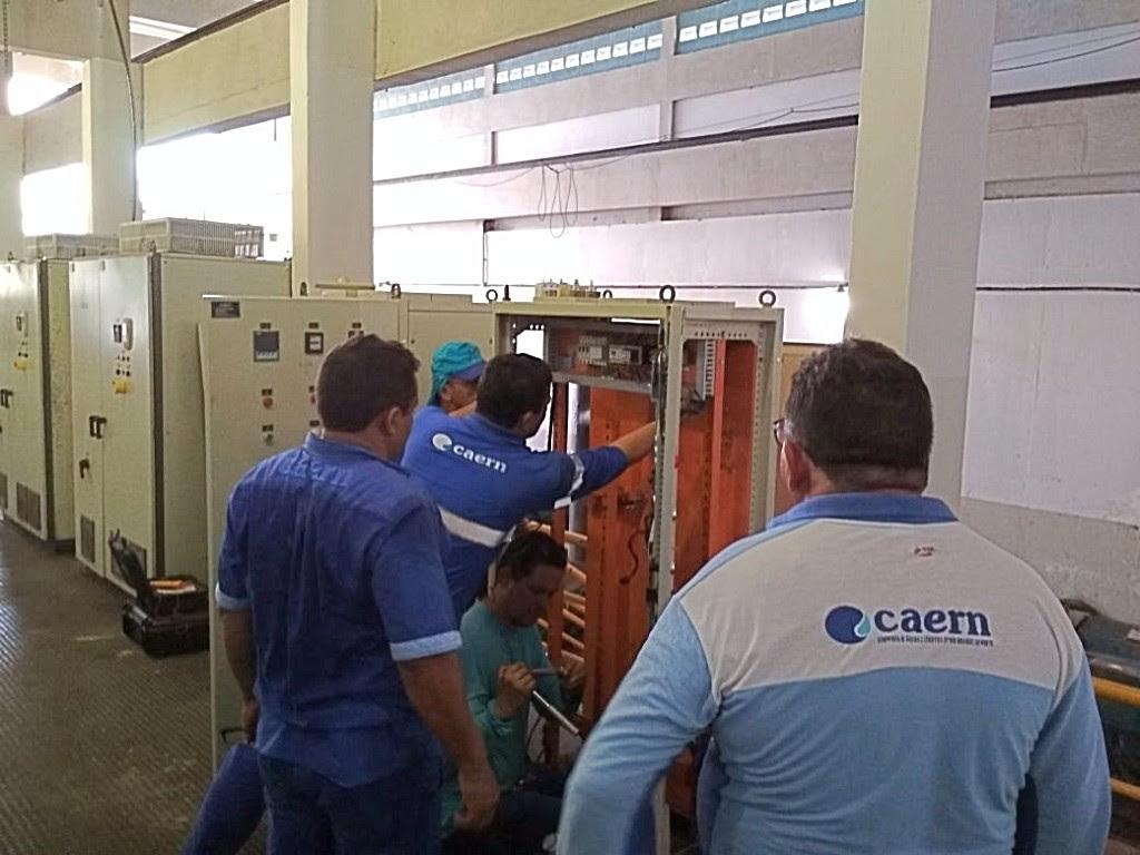 Caern irá trocar equipamentos no conjunto motobomba da adutora Jerônimo Rosado.