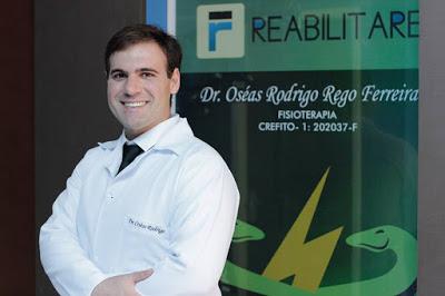 Parabéns e felicidades para o fisioterapeuta Dr.Oséas Rodrigo, da Clínica Reabilitare. Ele também completou mais um ano de vida recentemente.