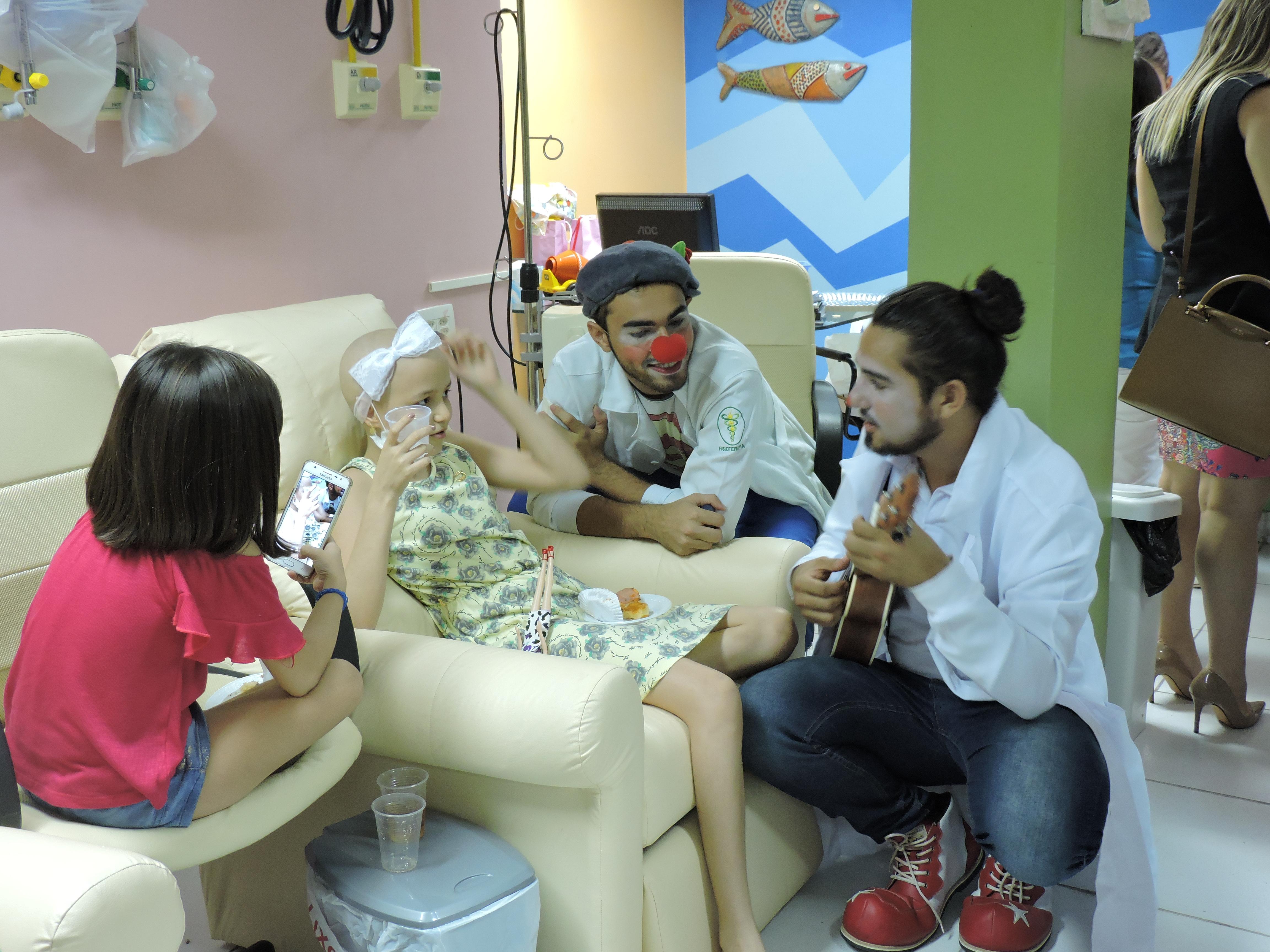 Ambiente mais humanizado e confortável tem impactos positivos  sobre o bem estar e a recuperação das crianças.