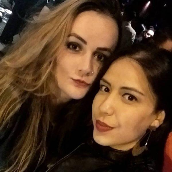 Ontem foi dia de festa da vida para  Zaira Maia, na foto ao lado da irmã Marina Maia, da coluna os votos de felicidades sempre!