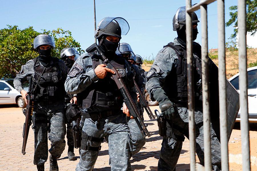 Sistema prisional do RN recebe 571 novos agentes penitenciários