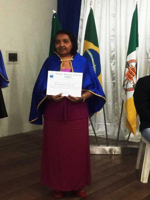 : Parabéns a querida historiadora, advogada e escritora Dodora Maia agora é Imortal da AAPOL.