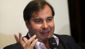 Rodrigo Maia se reuniu hoje pela manhã com a ministra Cármen Lúcia Marcelo Camargo/Agência Brasil