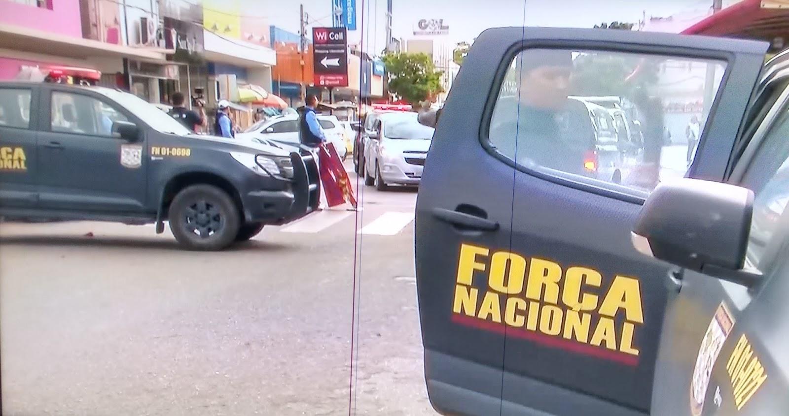 O envio das tropas federais para Mossoró se justifica devido ao aumento da criminalidade na região.