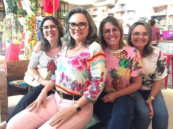 Só empresárias de sucesso do RN! Miranete Maia, Miranete Modas, Marillac Souza e Verônica , estão com as lojas cheias de novidades para esse carnaval.