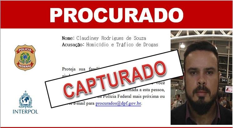 Com identidade falsa, Claudiney Rodrigues de Souza pretendia estabelecer-se como empresário e adquirir bens em Fortaleza ( Reprodução / PF )