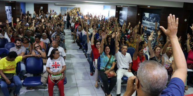 Servidores da saúde encerram greve, após completar 100 dias de luta