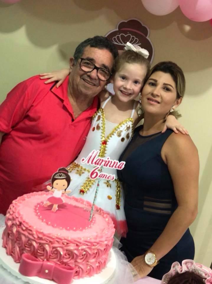 A pequena Marinna Arabella, completou mais um aninho de vida e ganhou festa surpresa dos pais Juvenal Pereira e Marilia Consuelo.