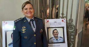 Eis aqui a Major Myria Suassuna. Parabéns e muito sucesso!