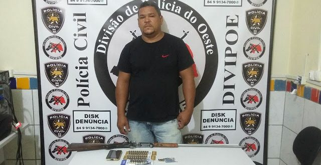 Homem é preso com arma de fogo no Dom Jaime Câmara