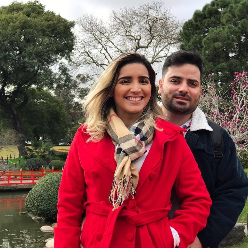 Sábado é dia de festa para Fabricio Tavares, na foto com sua musa Ariany Cordeiro. Parabéns e tudo de bom!